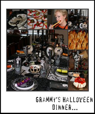 Grammy's Halloween Dinner Blog