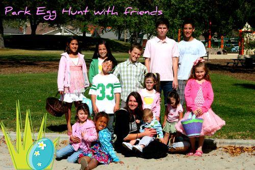 Park Egg Hunt Blog 1
