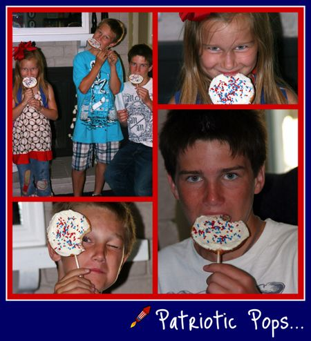 Patriotic Pops collage