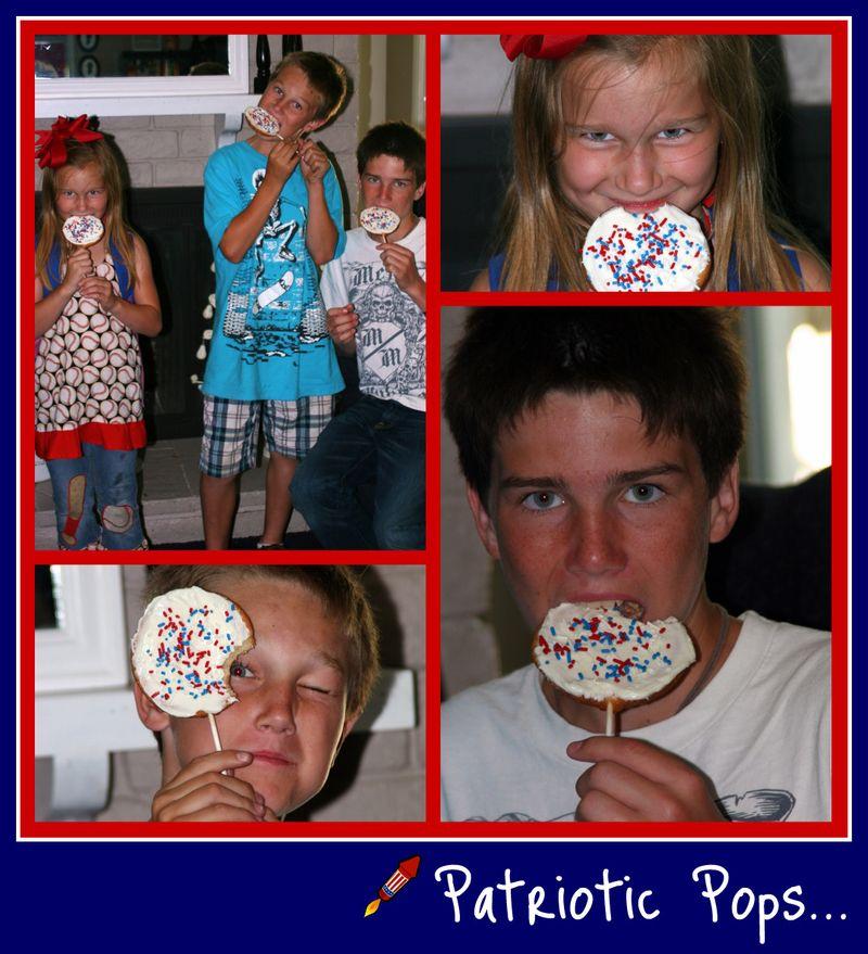 Patriotic Pops collage