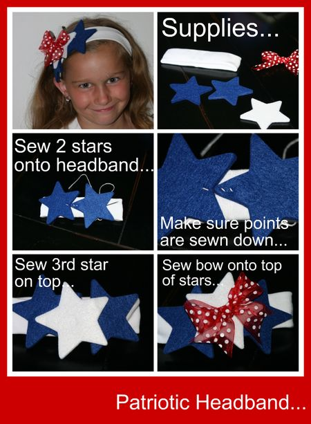 Headband collage