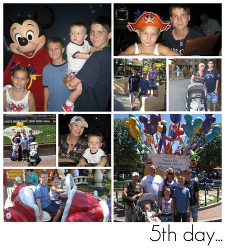 Disney 8 collage