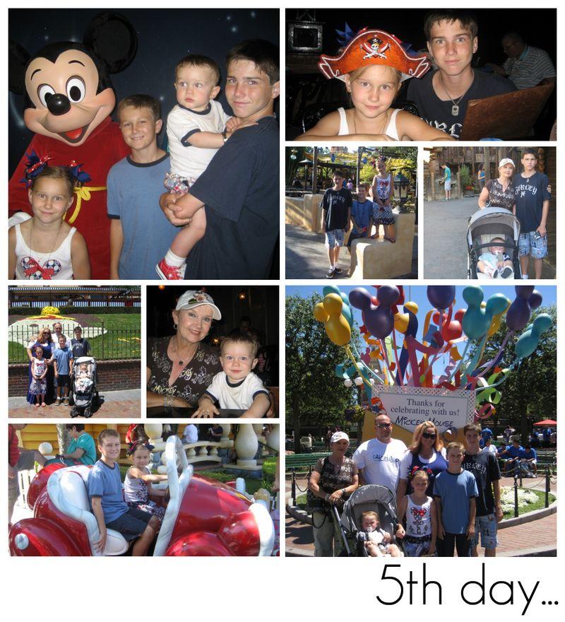 Disney 8 collage