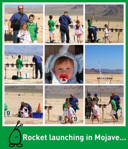Rocket collage