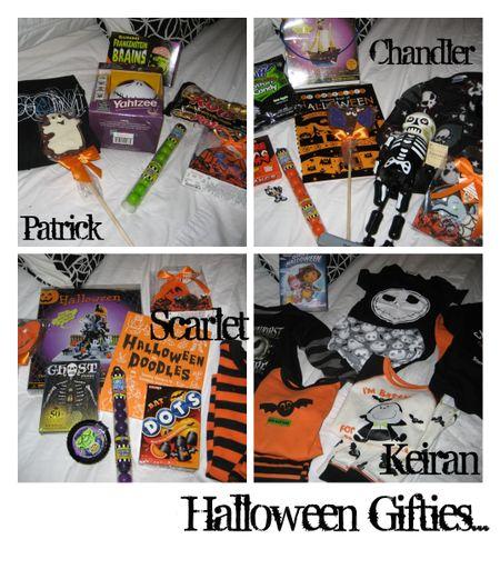 Halloween Gifties collage