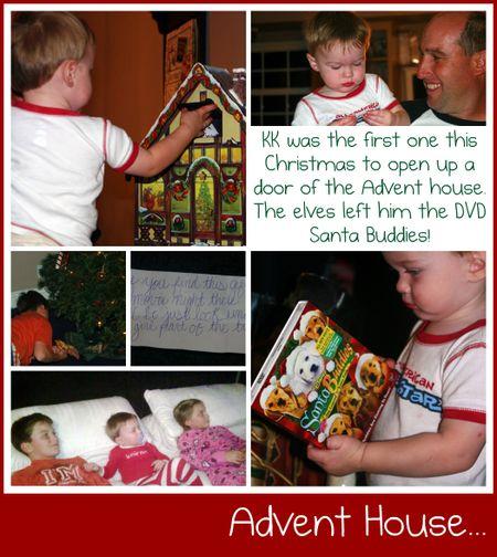 Advent collage