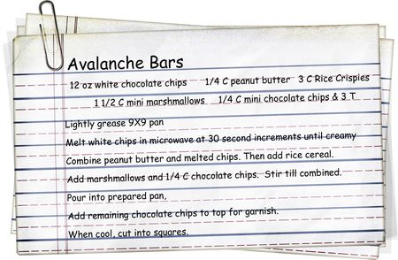 Avalanche Bars