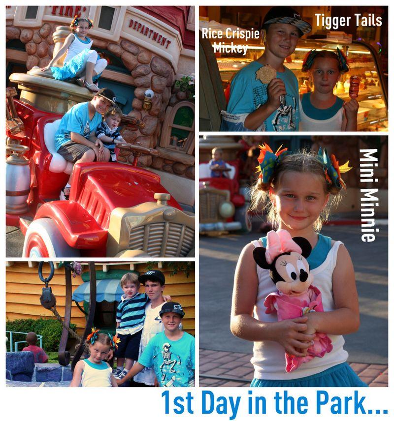 Disney Day 1 Park