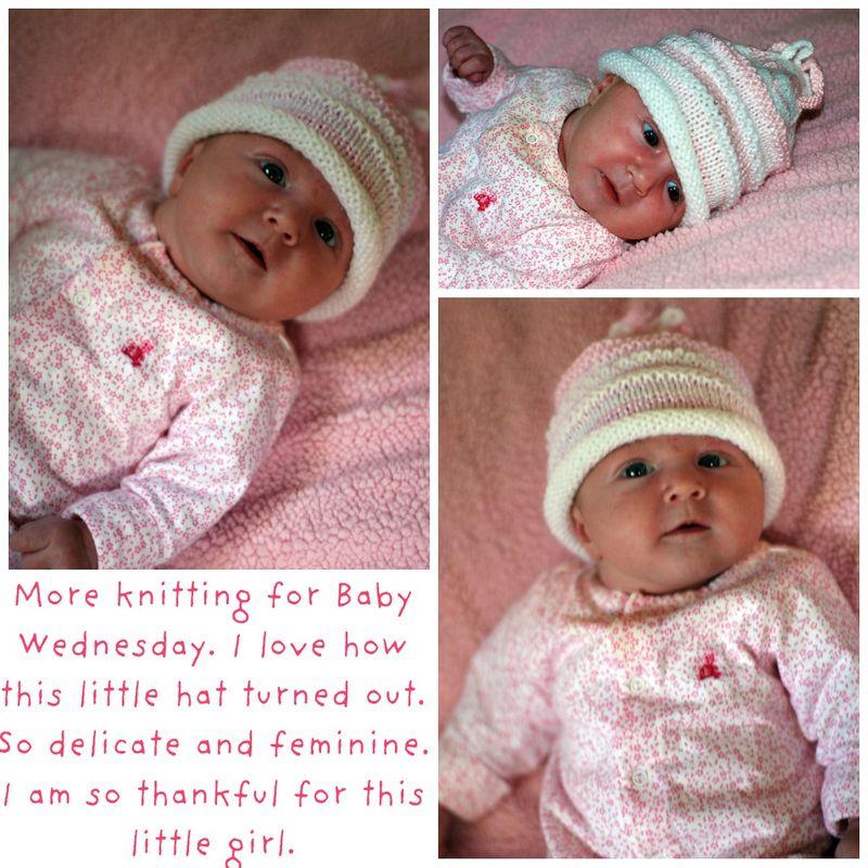 Pink Knit Hat