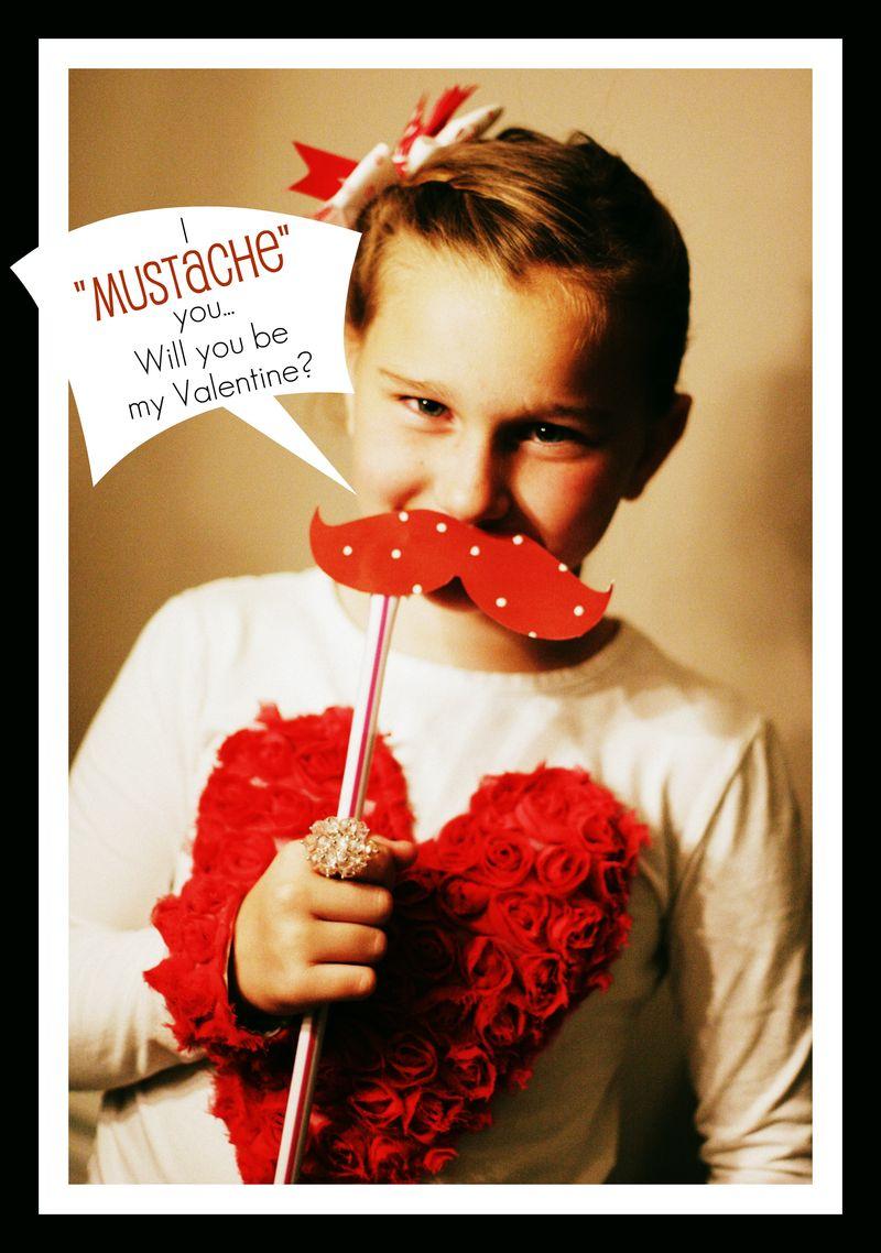 I Mustache You Valentine