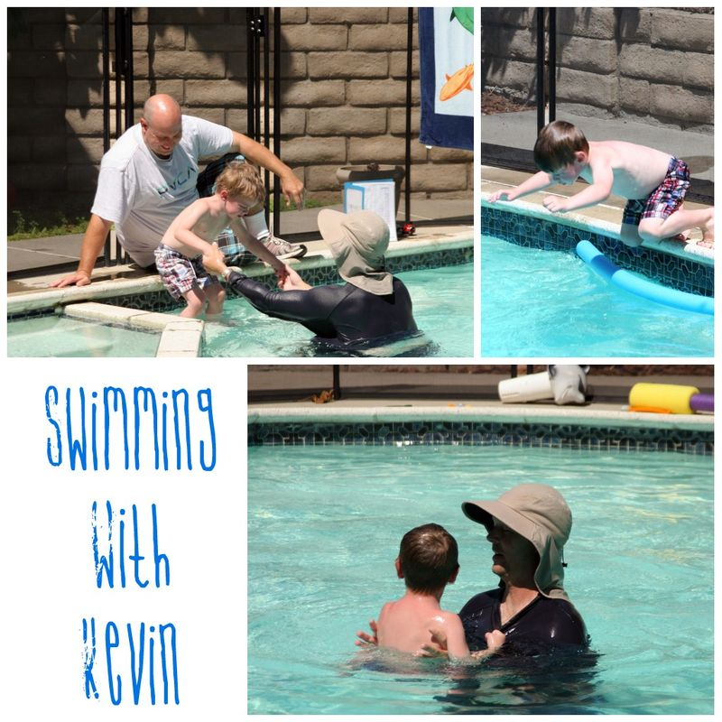 Swimming with Kevin