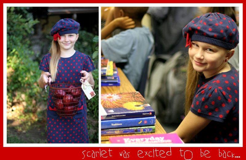 Back to School Scarlet class