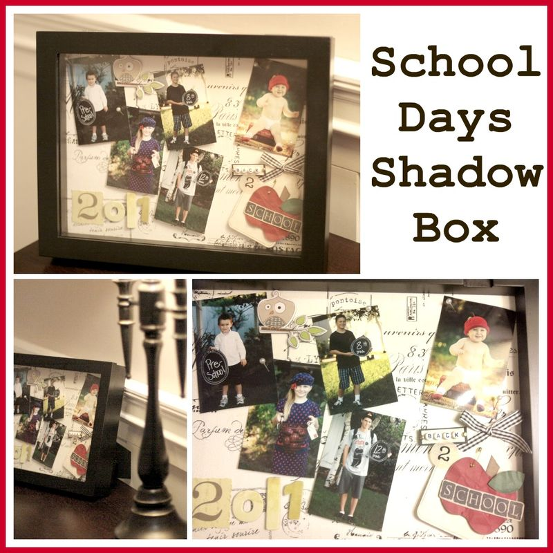 School days shadow box