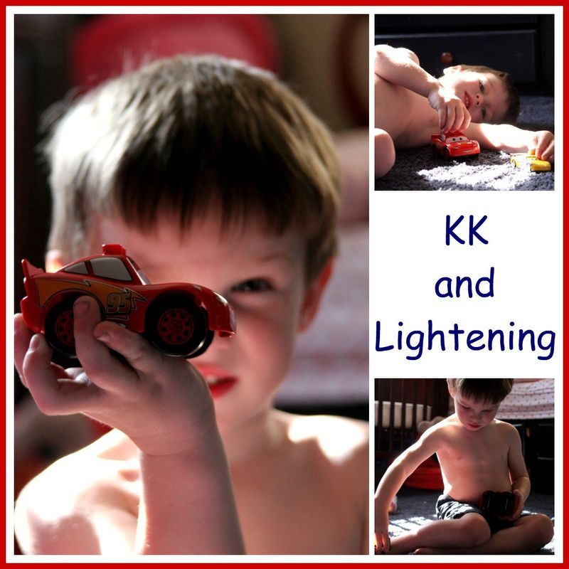 KK and lightening