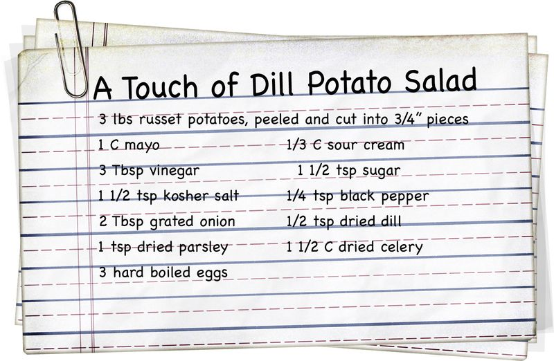 A Touch of Dill Potato Salad01