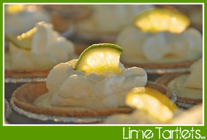 Lime tartlets pic