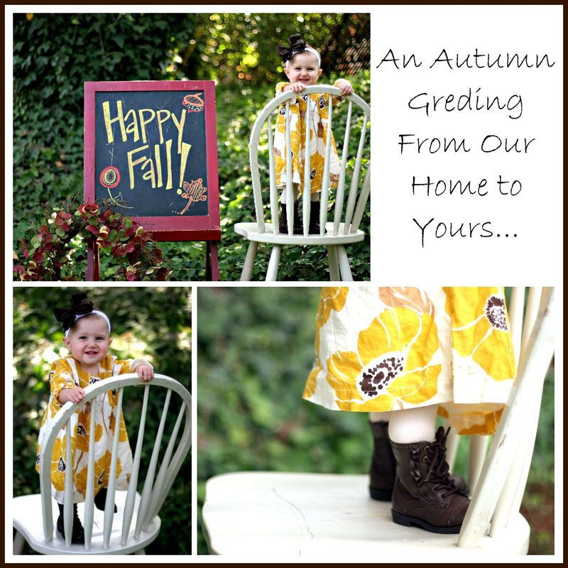 An Autumn Greding...