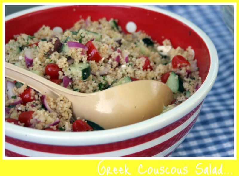 Greek Couscous Salad Pic
