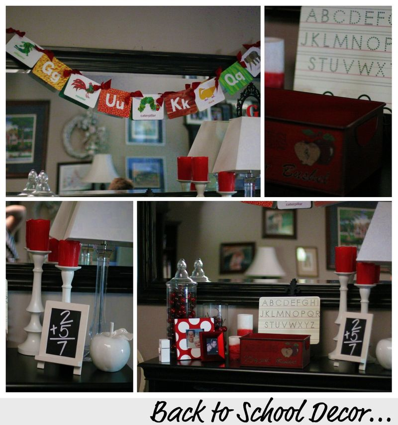 Back to school family room