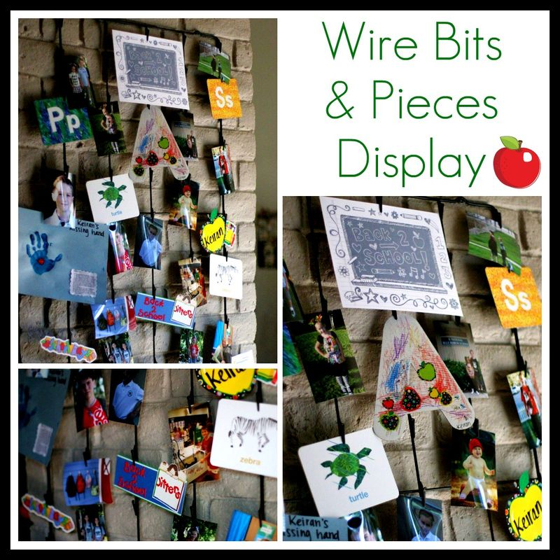 Wire Bits and Pieces Display