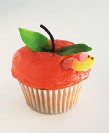 Apple_cupcake