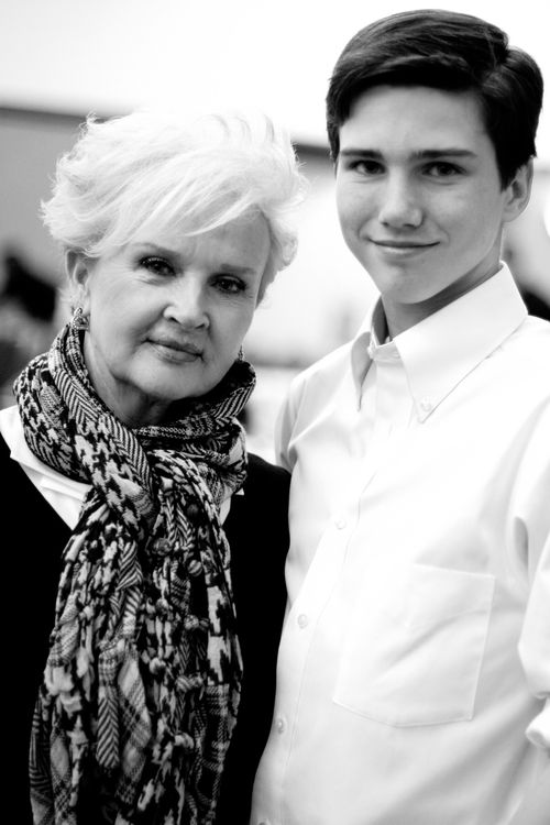 Grammy and Patrick at the WLH Soccer Banquet