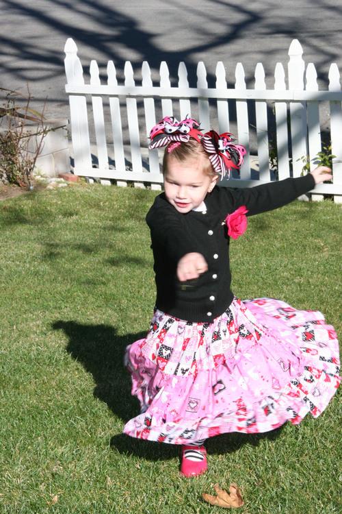 3 Tiered Valentine Skirt