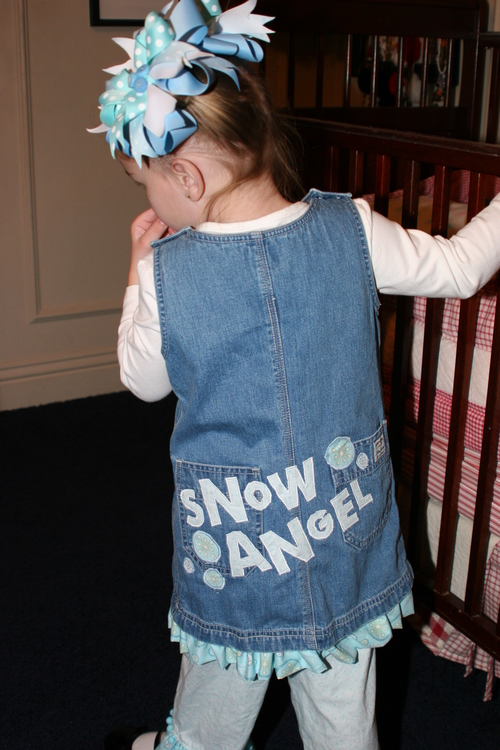 Snow Angel Jumper and Bloomers