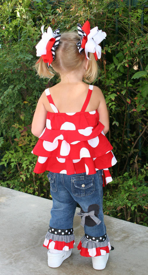 Disney Tiered Shirt and Pants