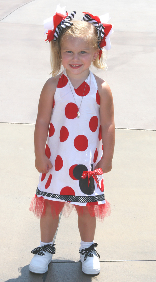 Minnie Halter Dress