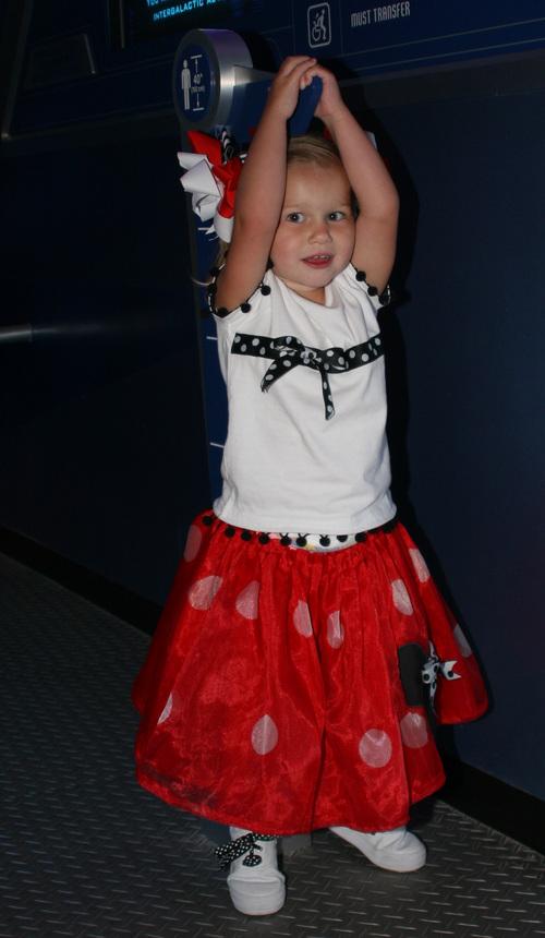 Disney T-Shirt and 50's Skirt