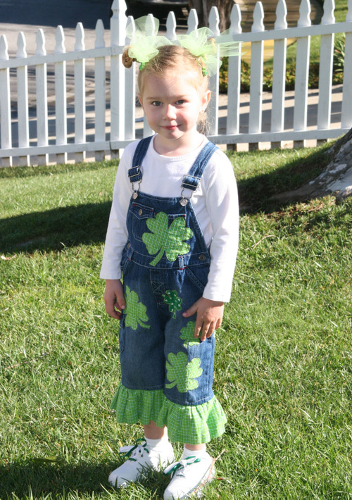 St. Patty's Overalls