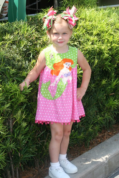 Little Mermaid Dress Top and Bloomers
