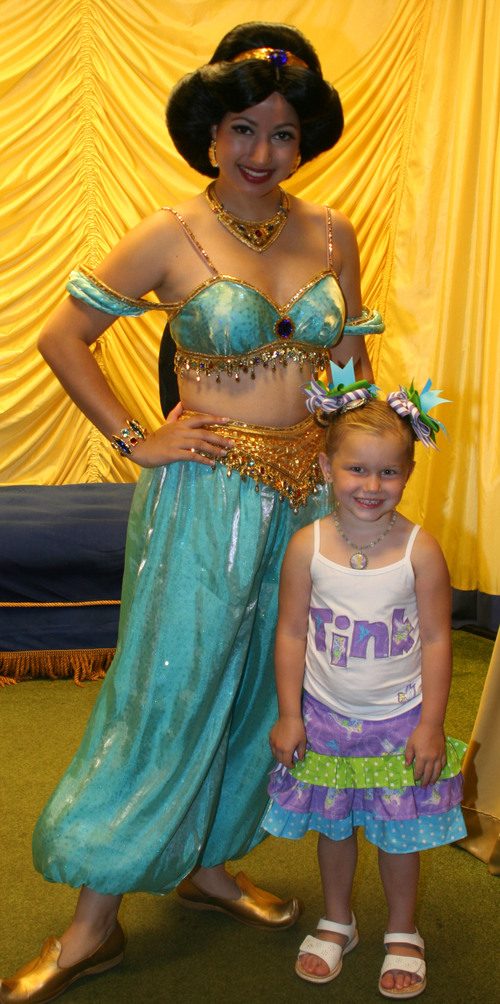 Tink Tank and Tiered Skirt