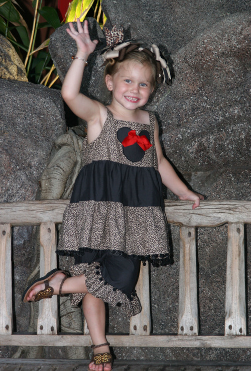 Minnie Leopard Tank and Bloomers