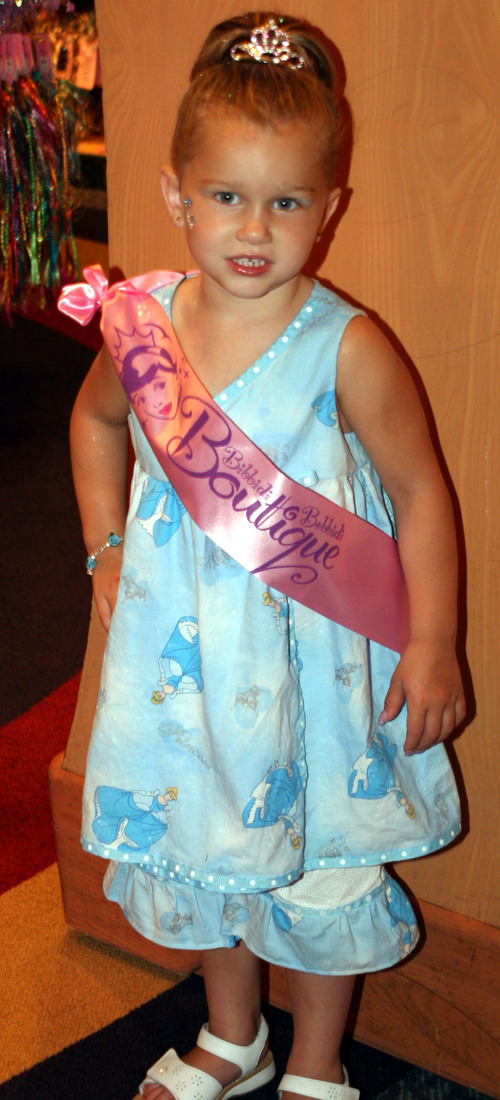 Cinderella Tank Dress and Bloomers